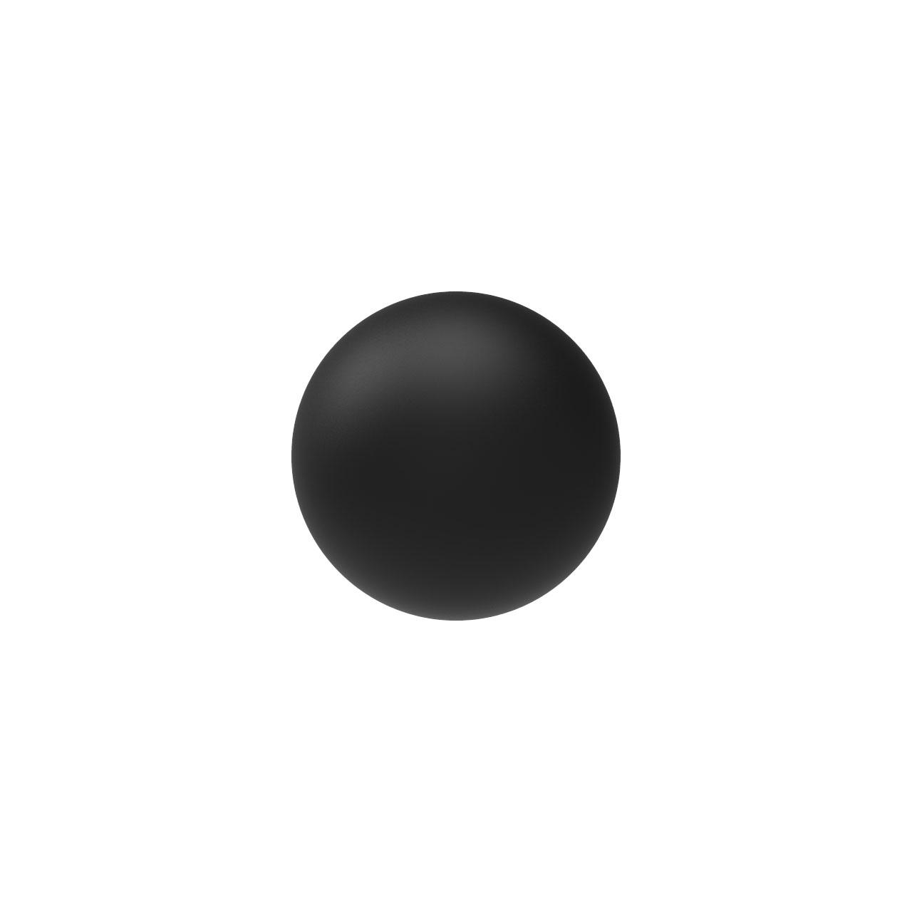 HIQPARTS(ハイキューパーツ) ネオジム磁石 ボール型 ブラック3.0mm(10個入) [MGNB-B30] 4573211373004