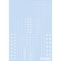 HIQPARTS(ハイキューパーツ) 1/144 RB02 コーションデカール ワンカラーホワイト(1枚入) [RB02-144OWH] 公式画像1