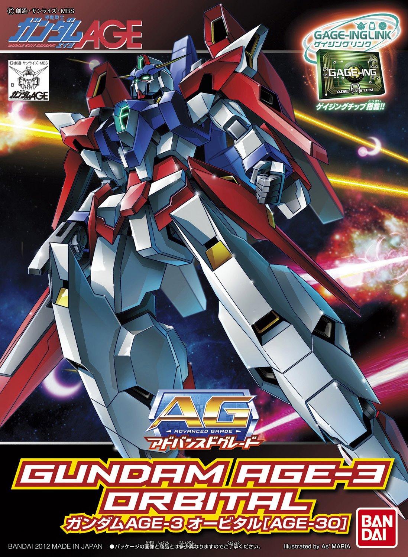 AG 1/144 AGE-3O ガンダムAGE-3 オービタル [Gundam AGE-3 Orbital]