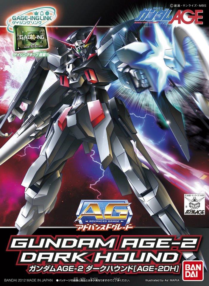 AG 1/144 AGE-2DH ガンダムAGE-2 ダークハウンド [Gundam AGE-2 Dark Hound]