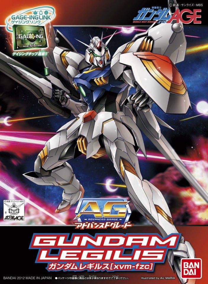 AG 1/144 xvm-fzc ガンダムレギルス [Gundam Legilis]