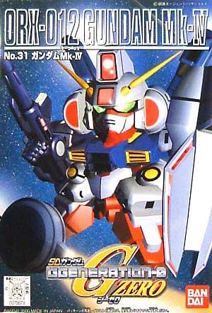 SDガンダム GジェネレーションZERO(GGENERATION-0) 031 ORX-012 ガンダムMk-IV [Gundam Mk-IV]