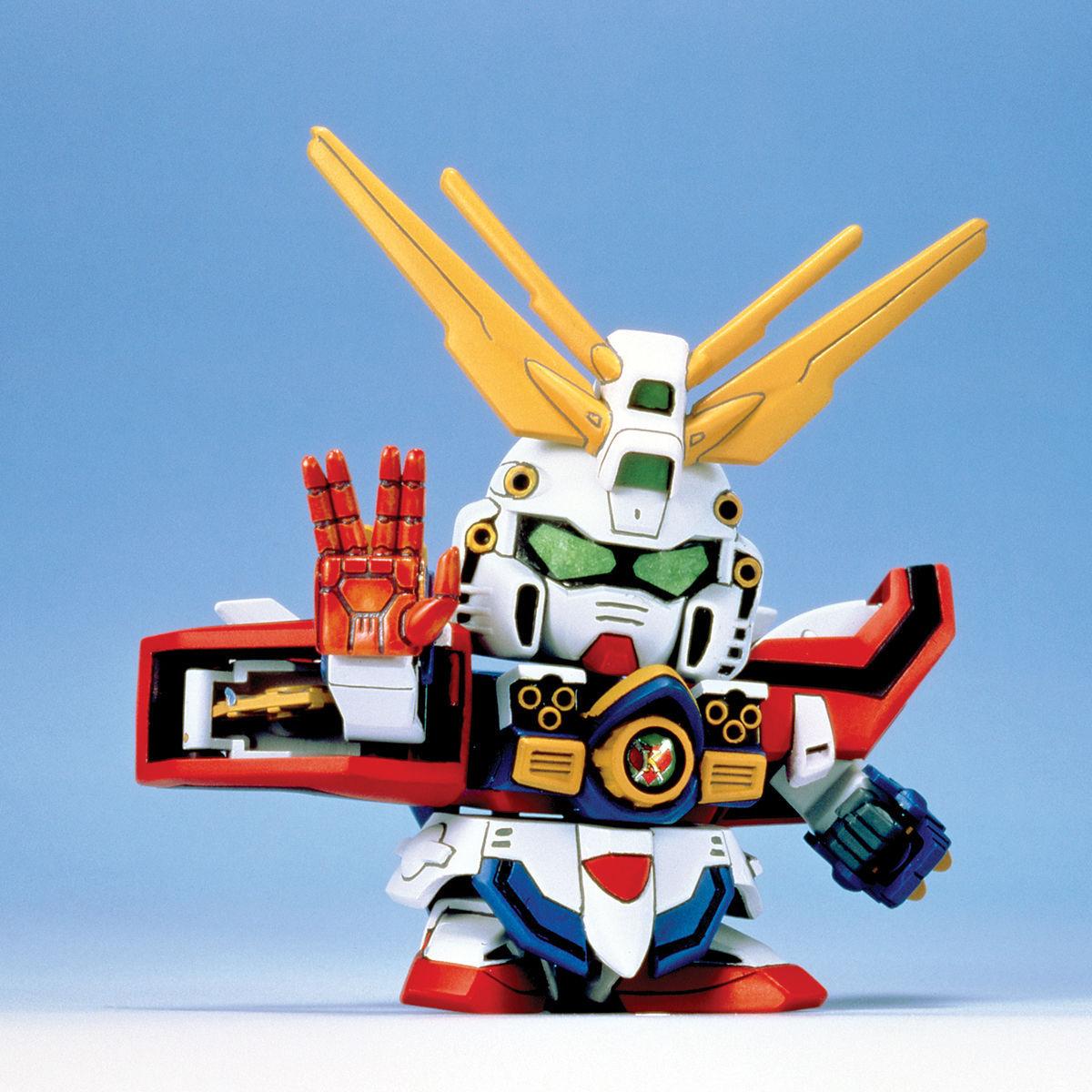 SDガンダム GジェネレーションZERO(GGENERATION-0) 028 GF13-017NJII Gガンダム(ゴッドフィンガーモード) [G Gundam (God Finger Mode)]