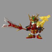 SDガンダム BB戦士 五誇将ガンダム・龍輝宝セット 公式画像2