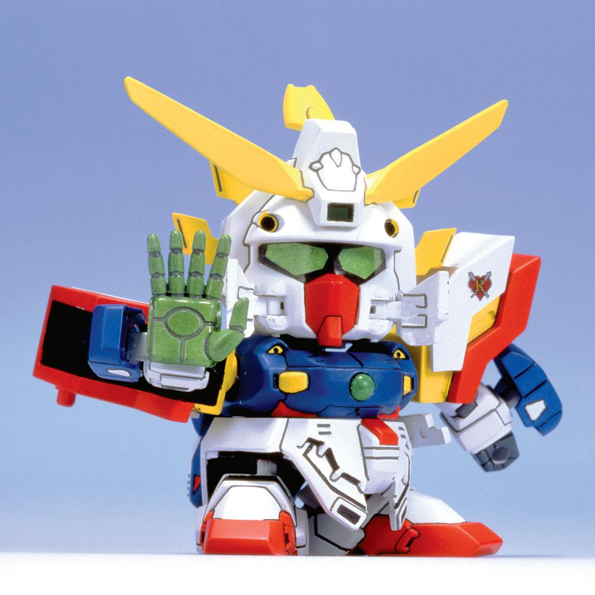 SDガンダム GジェネレーションZERO(GGENERATION-0) 025 GF13-017NJ シャイニングガンダム(シャイニングフィンガーモード) [Shining Gundam (Shining Finger Mode)]