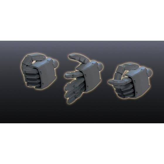 ビルダーズパーツHD 1/144 MSハンド02(ジオン系) ダークグレー 5062865 4573102628657 0201309 4549660013099