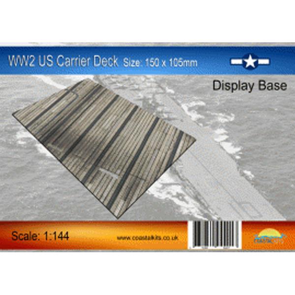 Coastalkits(コースタルキット) ディスプレイベース WW2 米空母 甲板150サイズ CKS112-144-150 0731840944017