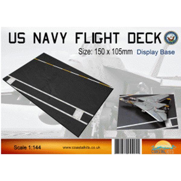 Coastalkits(コースタルキット) ディスプレイベース 米海軍空母 フライトデッキ150サイズ CKS270-144-150 0731840944055