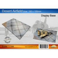 Coastalkits(コースタルキット) ディスプレイベース 砂漠の飛行場150サイズ CKS310-144-150 0731840944079 公式画像1