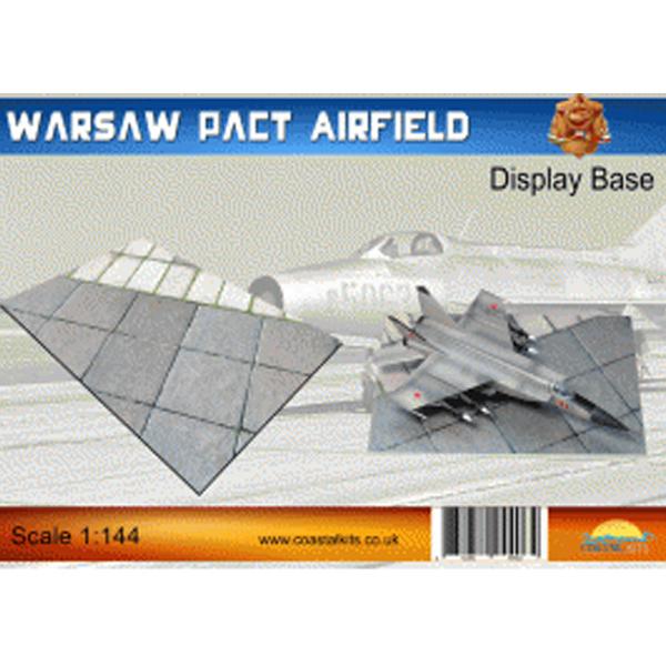 Coastalkits(コースタルキット) ディスプレイベース ワルシャワ条約機構軍の飛行場150サイズ CKS610-144-150 0731840944062