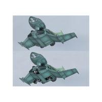 EXモデル 1/144&1/100 ドップファイター[Dopp Fighter] 公式画像3