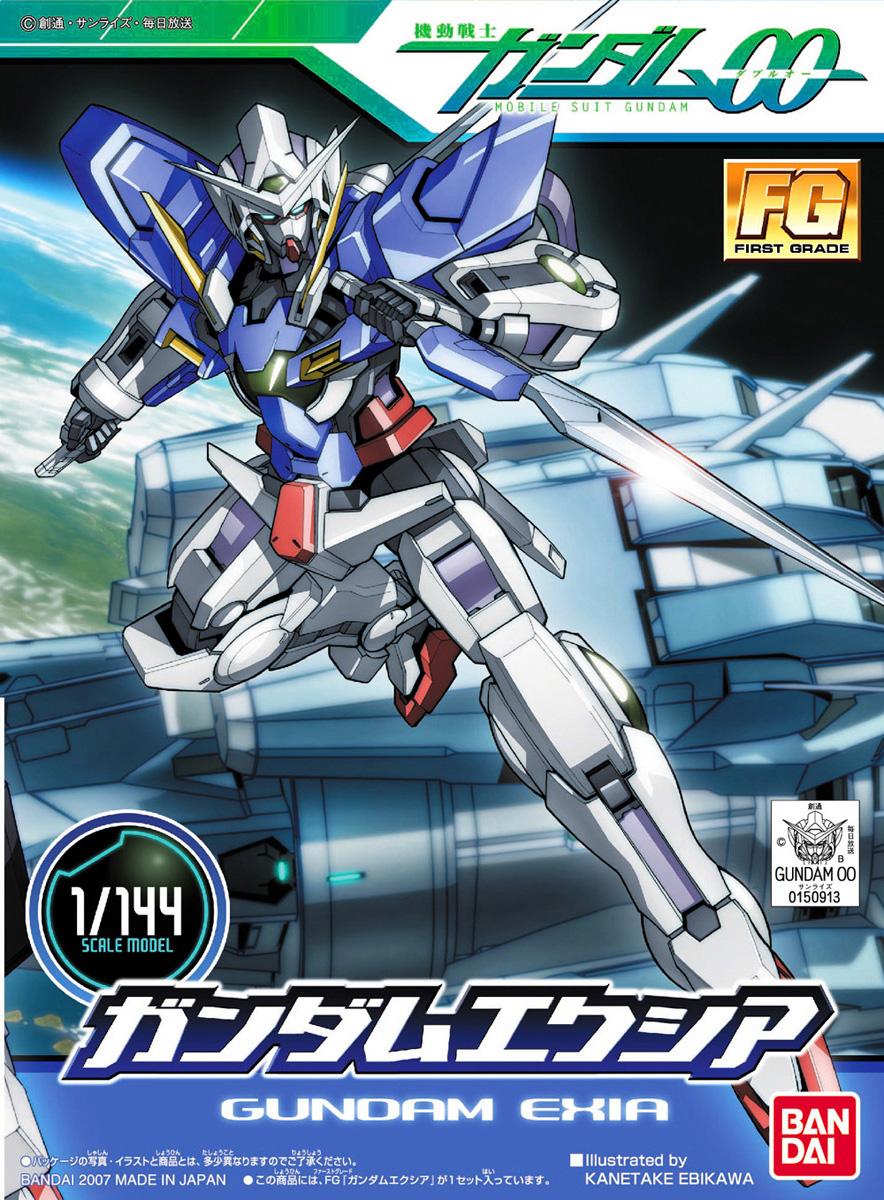 FG 1/144 GN-001 ガンダムエクシア [Gundam Exia]