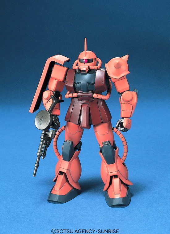 67814FG 1/144 MS-06S シャア・アズナブル専用 ザクII [Zaku II Char Aznable Custom]