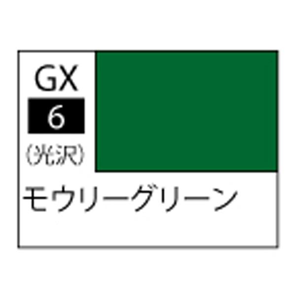 GSIクレオス GX006 Mr.カラー GX モウリーグリーン 光沢