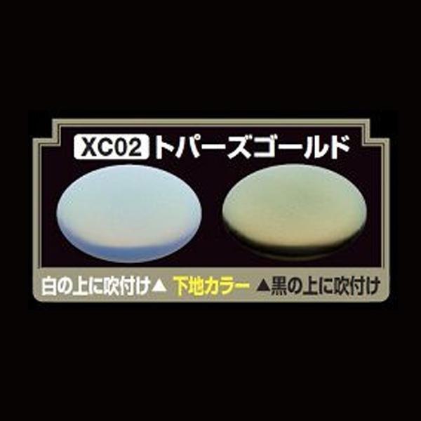 GSIクレオス XC02 Mr.クリスタルカラー トパーズゴールド