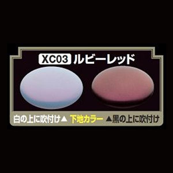 GSIクレオス XC03 Mr.クリスタルカラー ルビーレッド
