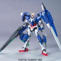 HG 1/144 GN-0000GNHW/7SG ダブルオーガンダム セブンソード/G [00 Gundam Seven Sword/G] 素組画像