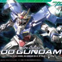 HG 1/144 GN-0000 ダブルオーガンダム [00 Gundam] パッケージ