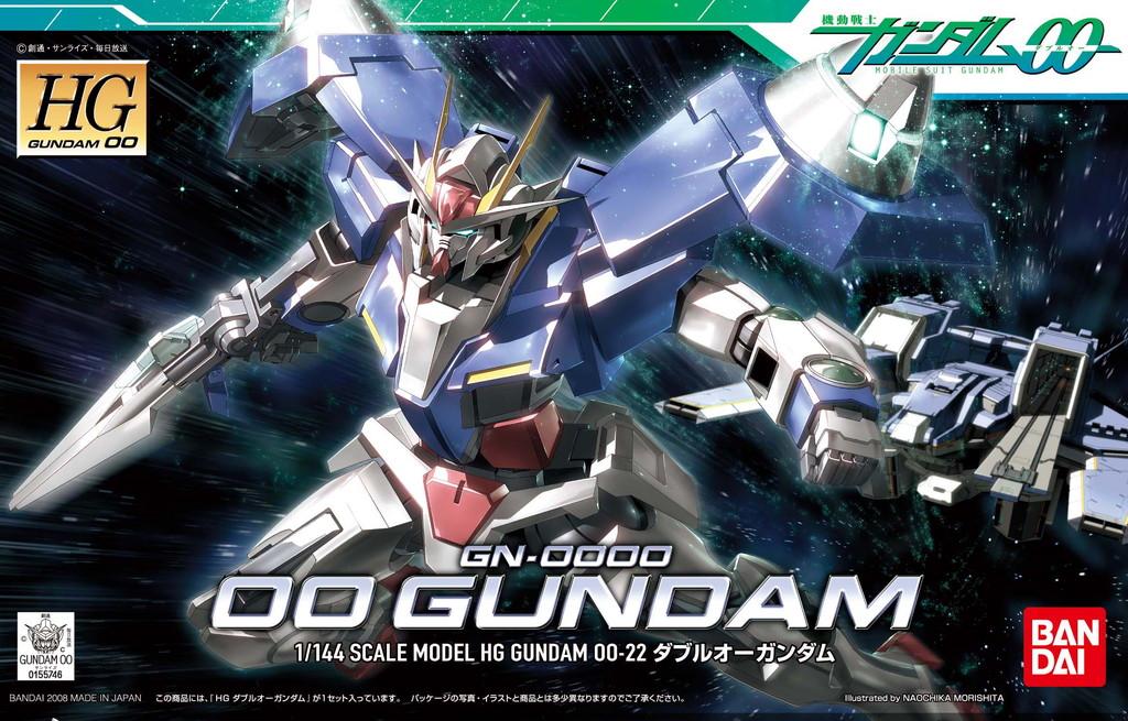 HG 1/144 GN-0000 ダブルオーガンダム [00 Gundam]