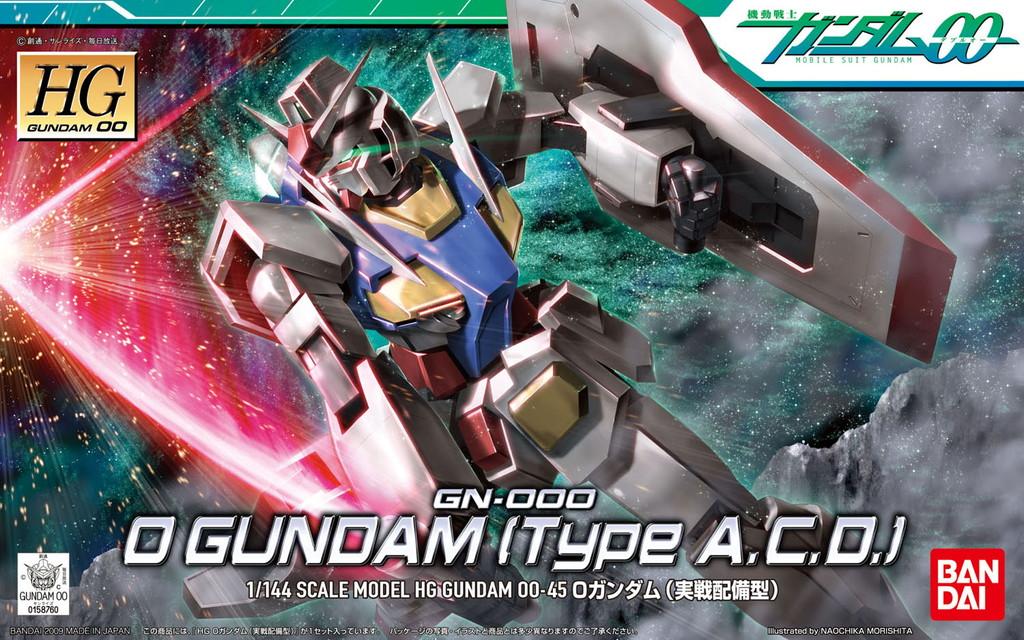 HG 1/144 GN-000 オーガンダム(実戦配備型) [0 Gundam (Type A.C.D.)] (Oガンダム) 0158760 5055732