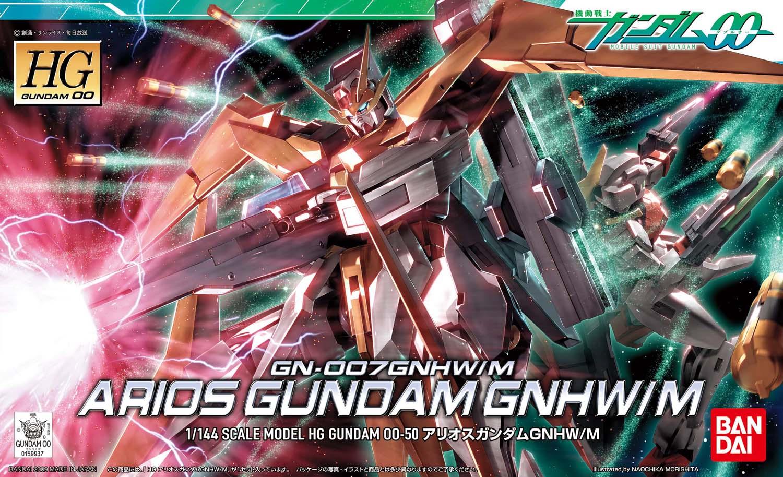 HG 1/144 GN-007GNHW/M アリオスガンダムGNHW/M [Arios Gundam GNHW/M]