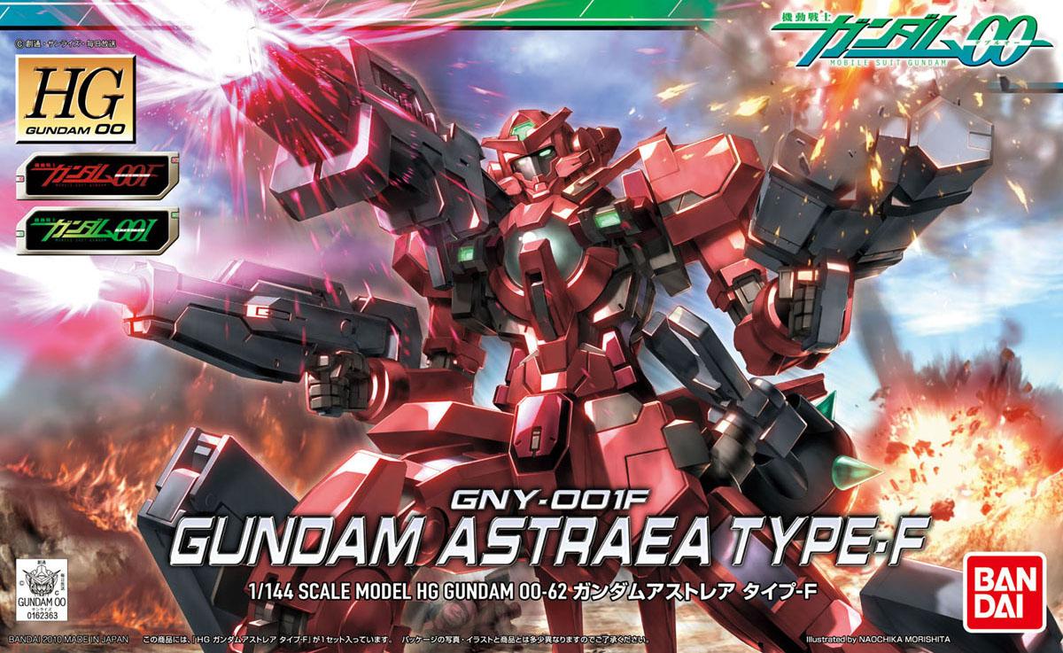 HG 1/144 GNY-001F ガンダムアストレア タイプF [Gundam Astraea Type F]  0162363 5060652 4573102606525