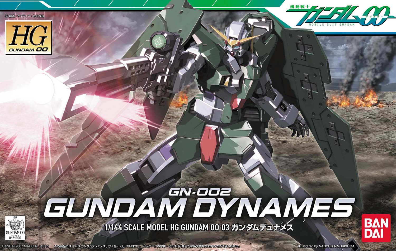 HG 1/144 GN-002 ガンダムデュナメス [Gundam Dynames]