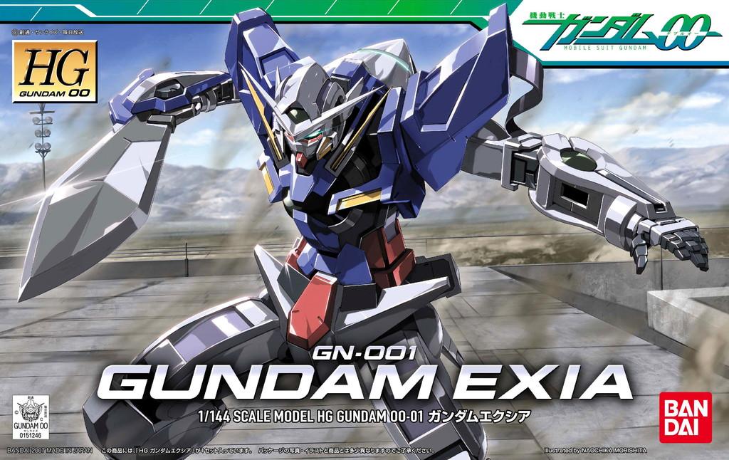 HG 1/144 GN-001 ガンダムエクシア [Gundam Exia]