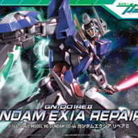HG 1/144 GN-001REII ガンダムエクシアリペアII [Gundam Exia Repair II] パッケージ