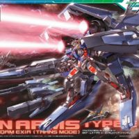 HG 1/144 GNアームズTYPE-E+ガンダムエクシア(トランザムモード) [GN Arms Type E + Gundam Exia] パッケージ