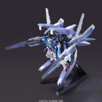 HG 1/144 GNアームズTYPE-E+ガンダムエクシア(トランザムモード) [GN Arms Type E + Gundam Exia] 素組画像