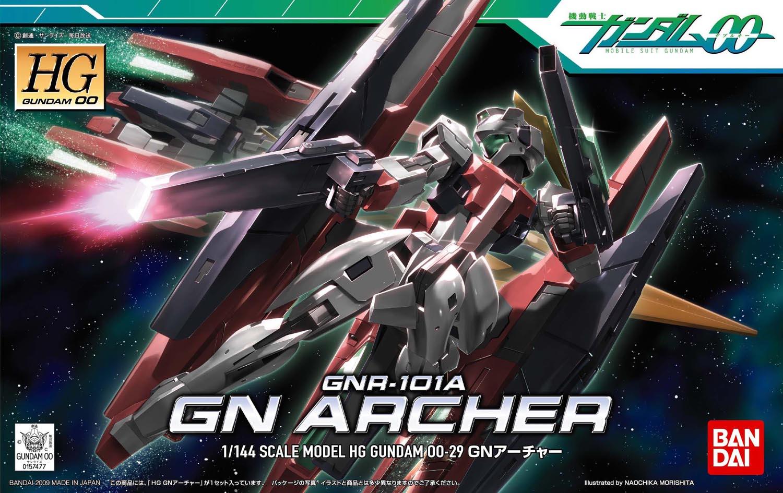 HG 1/144 GNR-101A GNアーチャー [GN Archer] パッケージアート