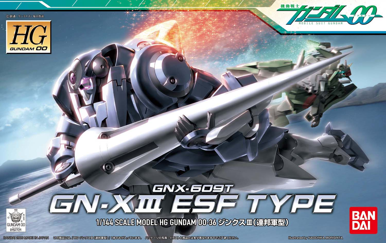 HG 1/144 GNX-609T ジンクスIII(連邦軍型) [GN-X III ESF Type]