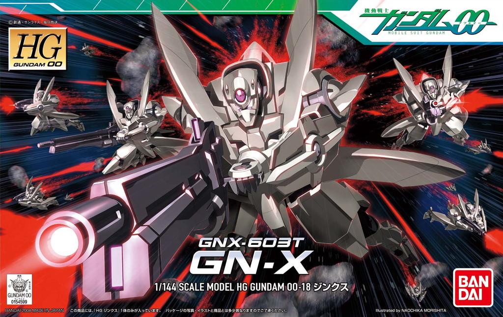 HG 1/144 GNX-603T ジンクス パッケージアート