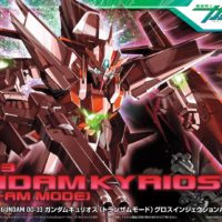 HG 1/144 GN-003 ガンダムキュリオス(トランザムモード)グロスインジェクションバージョン [Gundam Kyrios Trans-Am Mode] パッケージ