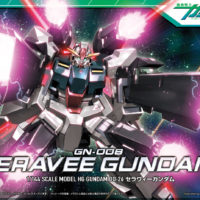 HG 1/144 GN-008 セラヴィーガンダム [Seravee Gundam] パッケージ
