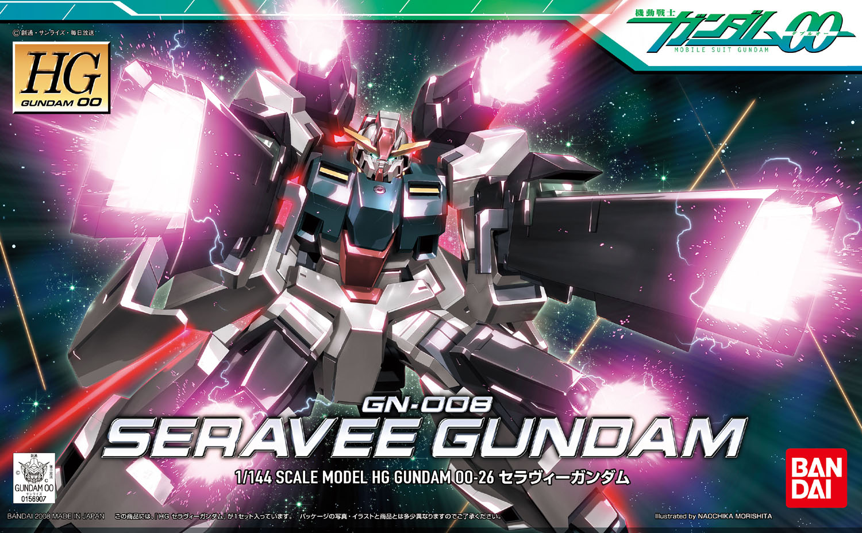 HG 1/144 GN-008 セラヴィーガンダム [Seravee Gundam]