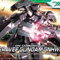 HG 1/144 GN-008GNHW/B セラヴィーガンダムGNHW/B [Seravee Gundam GNHW/B] パッケージ