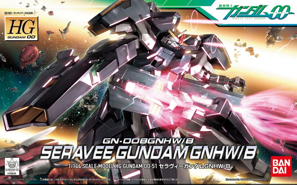 HG 1/144 GN-008GNHW/B セラヴィーガンダムGNHW/B [Seravee Gundam GNHW/B]
