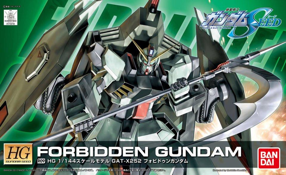 HG 1/144 R09 GAT-X252 フォビドゥンガンダム [Forbidden Gundam]