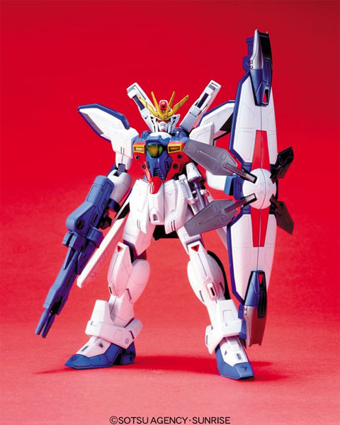 60790HG 1/100 GX-9900-DV ガンダムエックスD.V.(ディバイダー) [Gundam X Divider] 0054287 4902425542874