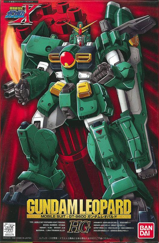 HG 1/100 GT-9600 ガンダムレオパルド [Gundam Leopard] 0053279 4902425532790