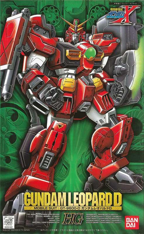 HG 1/100 GT-9600-D ガンダムレオパルドD(デストロイ) [Gundam Leopard Destroy]