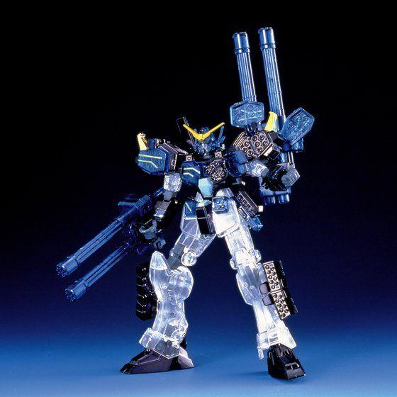 HG 1/144 XXXG-01H2 ガンダムヘビーアームズカスタム メタルクリヤー特別版 [Gundam H-Arms Custom Metal Clear Special Edition]