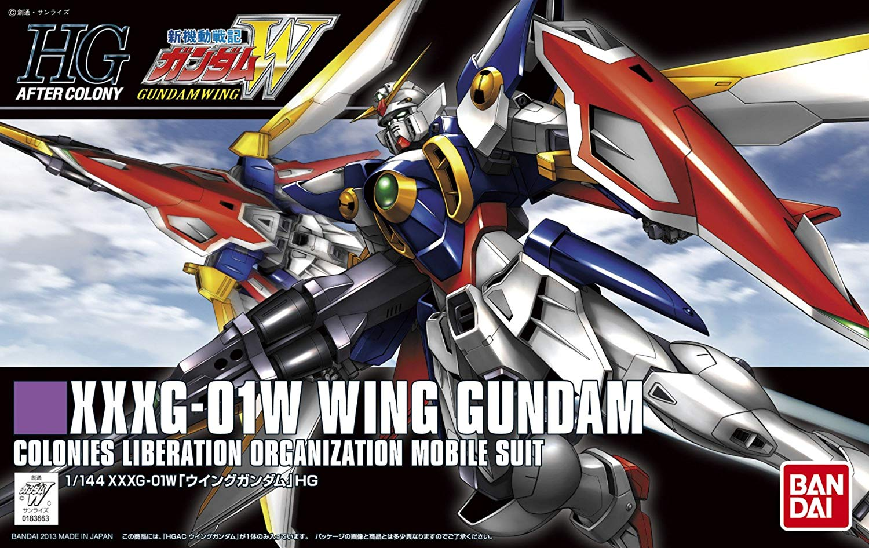 HGAC 1/144 XXXG-01W ウイングガンダム [Wing Gundam] パッケージアート