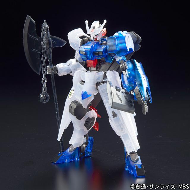 HG 1/144 ガンダムアスタロト アックス&チョッパー装備クリアカラーVer.