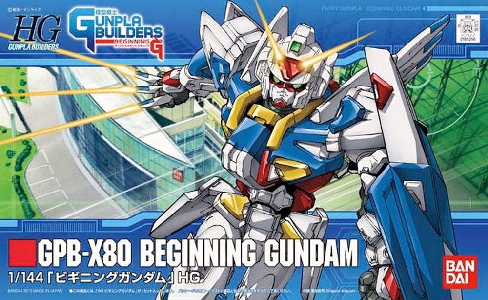 HG 1/144 GPB-X80 ビギニングガンダム [Beginning Gundam]