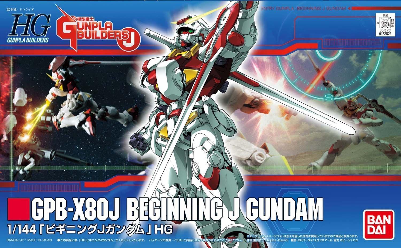 HG 1/144 GPB-X80J ビギニングJガンダム [Beginning J Gundam]