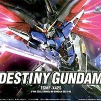 HG 1/144 ZGMF-X42S デスティニーガンダム [Destiny Gundam] パッケージ
