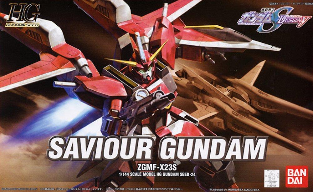 HG 1/144 ZGMF-X23S セイバーガンダム [Saviour Gundam]